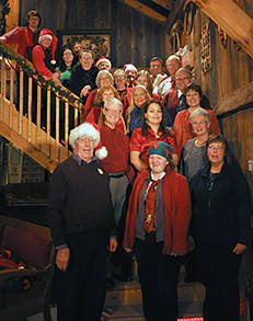 volunteers at The Brighton Barn Theatre